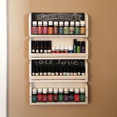 I would love to do this with essential oils!