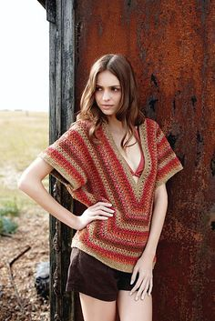Ravelry: Lovelock pattern by Lisa Richardson. Crochet top