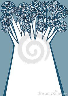 (C) Celia Ascenso - Winter Frozen Tree Greeting Card.