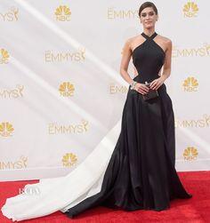 Lizzy Caplan In Donna Karan Atelier – 2014 Emmy Awards