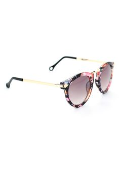 Chicwish Multi-Color Sunglasses with Metal Detail - Accessory - Retro, Indie and Unique Fashion #Chicwish