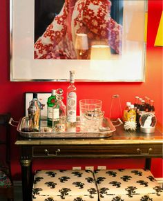 Kate Spade side bar