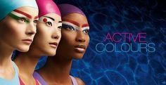 Olympische kleuren - #Knutselen met kindvriendelijke schmink | AngeliqueFelix.com