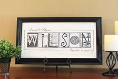 Neat wedding gift idea