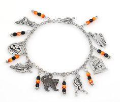 Charmed Halloween Bracelet Tutorial