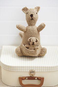 Toy Kangaroo Knitting Pattern : Knitting Patterns on Pinterest Knitting Patterns, Knitting Patterns?