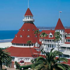 Hotel Del Coronado.  One of my all time favorite places :)