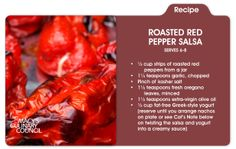 The crowd will go wild when you serve up Chef Cat Cora's Roasted Red Pepper salsa only at mblog.macys,com