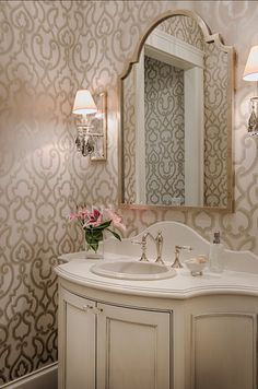 Powder Room. Powder