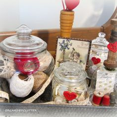 A Re-Purposed Glass Votive Shade  - Two Ways
