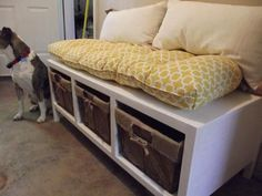 kitchens, home projects, bed, diy storage bench, hous, ana white, diy projects, storag bench, storage benches
