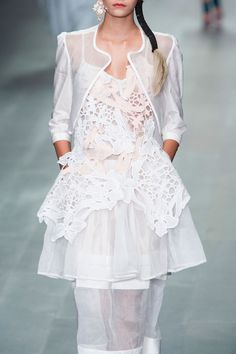 Bora Aksu - London Fashion Week - Spring 2015