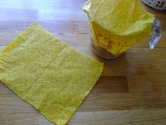 Old Gates Farm: DIY Beeswax Infused Fabric Wraps