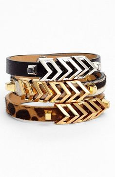 Vince Camuto 'Call of the Wild' Chevron Bracelet (Nordstrom Exclusive) | Nordstrom vince camuto, fashion, vinc camuto, style, bracelets, chevron bracelet, girl accessori, awesom handbag, jewelri