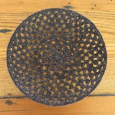 Iron Craft '14 Challenge 6 - Crocheted Bowls by katbaro, via Flickr 14 challeng, iron craft, craft 14, crochet bowl