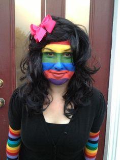 Teacher Halloween Costume!  A Bad Case of Stripes!