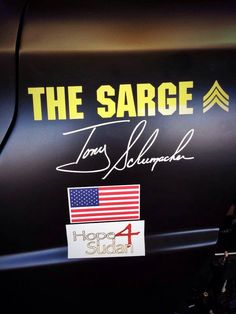 """""""The SARGE"""" Tony Schumacher TopFuel Army Dragster...He's my favorite!!!Melisa"""