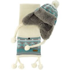 Get her ready to wrap up for those cold winter months with this super soft and stylish Crazy Teddy Beanie and Scarf from Argos.