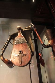 Hungarian Bagpipes - Musical Instruments Museum - Brussels, Belgium (article)