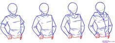 How to draw shirts