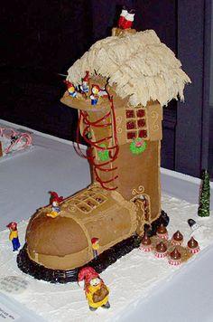 Gingerbread houses make me happy.
