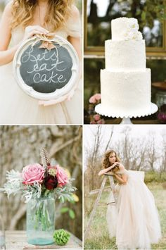 Rustic + Whimsical Fall Wedding Inspiration