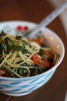 Quinoa Spaghetti wit