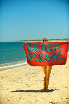 beach please towel