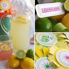 Free Lemonade Printables