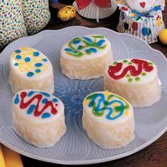 Petit Four Eggs