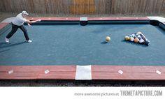 Yes!! Backyard fun :)
