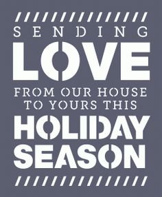 Silhouette Design Store - Design #50910: holiday message - perfect for a card from Hero Arts