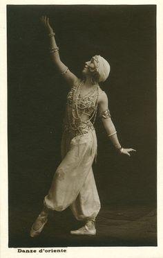 vintage ballet belly dance costume