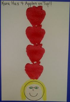 10 Apples Up On Top and more fun apple projects for preschool!