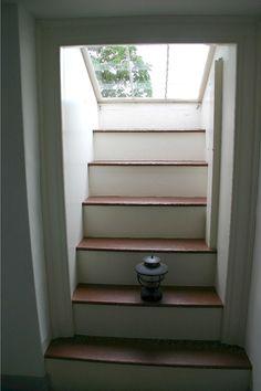Staircase with skylight, Monticello - Thomas Jefferson