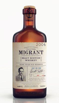 Migrant whiskey // Chad Michael