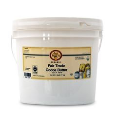 @glorybeefoods Aunt Patty's Organic Fair Trade Certified Coca Butter works well for creams and soaps as a hardener leaving you smelling like chocolaty-goodness! #FairTrade #BodyCare #Chocolate #CocoaButter