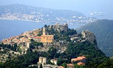 Eze, France-- hidden French medieval village. No cars. Something like 30 permanent residents... yes. Please.