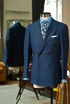 Linen DB at The Armoury, tie from Drake's London