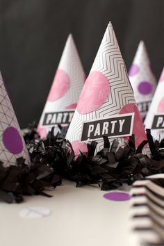 Cricut Print then Cut Party Hat