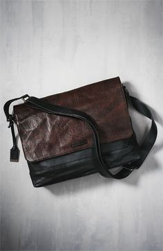 Frye 'James' Leather Messenger Bag