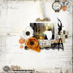 I-believe layout from Courtney Walsh, gifted designer & author!