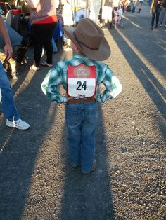 A little Cowboy At The Rodeo. #Photography Ideas # Country Life #Country Boy