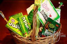 holiday, gift baskets, gift ideas, gifts, st patricks day, st patti, printabl, stpatrick, dating divas