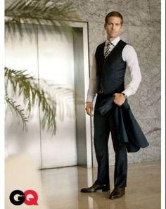 Paul Walker in a Suit