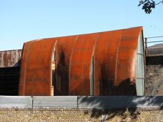 Archway Studios / Undercurrent Architects  corten steel