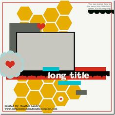 Sketch for one photo layout sketch, templat, scrapbook photo, scrapbook layout, sketches, hexagons, hexagon layout, scrapbook sketch, sketch 11