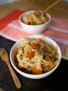 Creamy Coconut Curry Peanut + Noodles | Produce On Parade