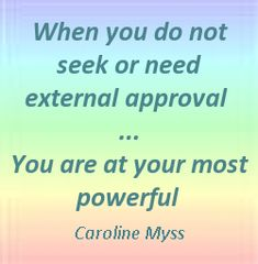 """When you do not seek or need external approval you are at your most powerful""  #Inspirational #Power #Need #Seek #picturequotes  View more #quotes on http://quotes-lover.com"