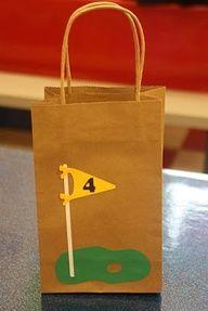golf tournament party ideas